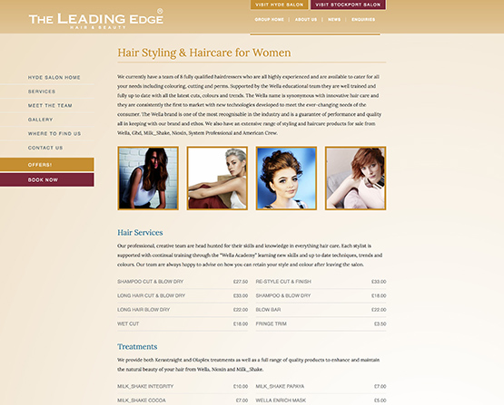 Leading Edge internal page